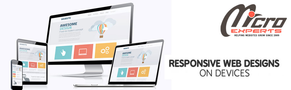 Responsive website design | Micro Experts Solution
